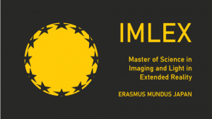 IMLEX logo Master of science in imaging and light in extended reality